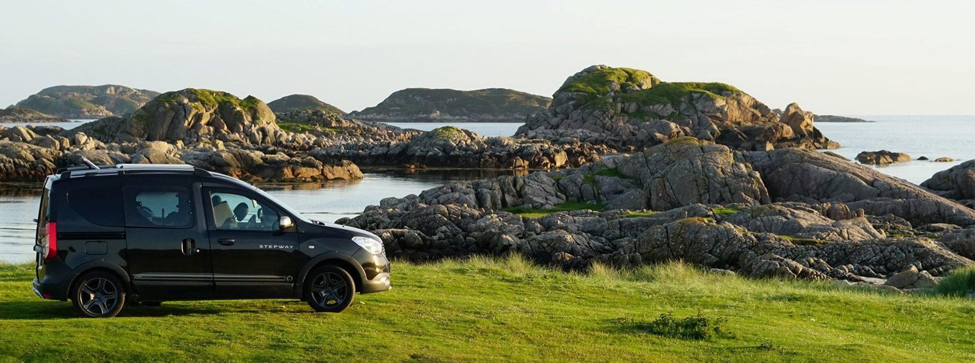 Dacia Dokker kust sfeerfoto