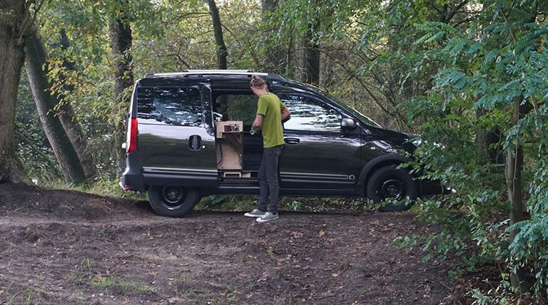 Dacia dokker side view